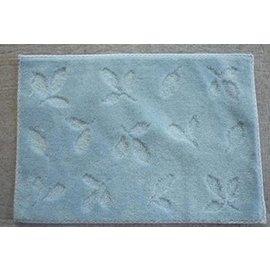 389e^#45^~65吸水防滑地墊 門墊 浴室 床前 廚房 飄窗 陽臺地毯 藍色 F22