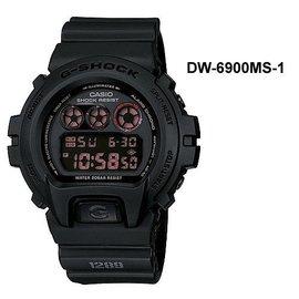 CASIO手錶G~SHOCK軍事武裝風DW~6900MS防震耐摔防水200M 貨