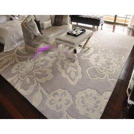 高檔晴綸地毯可訂制簡約 晴綸地墊客廳臥室書房大地毯樣板間 透明 F45 ~毯~