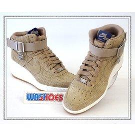 Nike Wmns Lunar Air Force 1 SKY HI 麂皮 咖啡 6548
