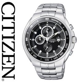 【CITIZEN】星辰 OXY 賽車風格三眼計時運動錶 台南經銷商 AN4010-57E