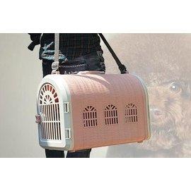 D店) 寵物款送 肩帶單 雙門外出 旅行 航空箱便攜寵物 兔 狗 貓 鳥提籠萌寵外出旅行