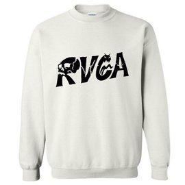 ~兩件~ 爆款RVCA美國街頭潮牌logo男士套頭衛衣