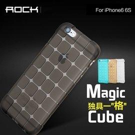 ~快樂購~ROCK iPhone6手機殼矽膠蘋果6s手機套4.7磨砂軟殼保護殼輕薄透明