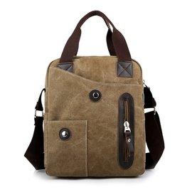 ~快樂購~帆布包正品男包滿江紅手提包單肩包斜挎包 ipad包大容量 側背包 後背包 錢夾