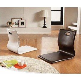 ~快樂購~日式和室椅 榻榻米懶人沙發靠背地板椅無腿椅和室皮革折疊椅 地板床上靠背和式電腦地