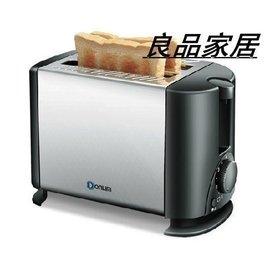 ~快樂購~Donlim 東菱 TA~8600多士爐2片烤面包機 家用全自動不鏽鋼吐司機