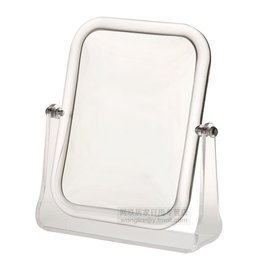 嘉寶特大號 雙面台式化妝鏡子 高檔 長方形三倍放大梳妝鏡1004