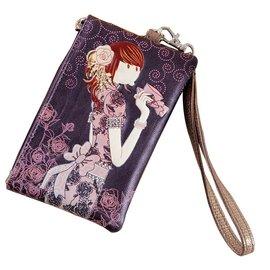 奧麗薇零錢包2014 正品女 卡通可愛奧莉薇包鑰匙包手包