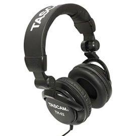 志達電子 TH~02 黑 贈收納袋 TASCAM TH~02 監聽式折疊耳罩式耳機 富銘