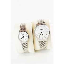 深度防水鋼帶男士超薄手表女款商務休閒石英手表情侶手表