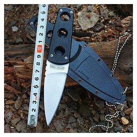 美國代工ColdSteel冷鋼小直刀迷你軍刀野外刀具隨身小刀潛水刀