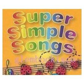 英語幼教 Super Simple Songs 英語兒歌童謠 6CD3DVD