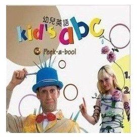 幼兒啟蒙英語:東西圖書幼兒英語KID S ABC 24DVD 送手冊 贈卡通CD包