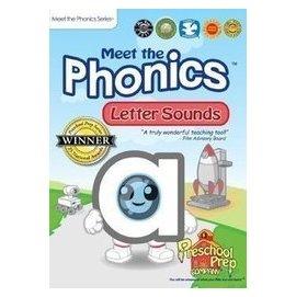 美國早教PreschoolPre新品 Meet the Phonics 3DVD 高清