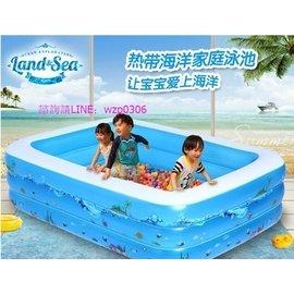 銷售 樂親嬰兒遊泳池嬰幼兒童寶寶充氣遊泳池超大型家庭海洋球池戲水池