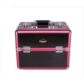 正品Sunrise 多層大容量復古 化妝箱 跟妝彩DB~013~PB 大容量化妝箱手提化妝