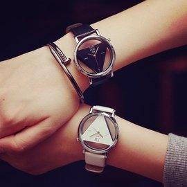 韓國ulzzang簡約潮牌街頭潮男原宿中學生女復古港風 情侶手錶