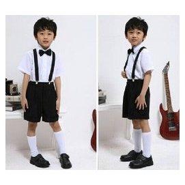 六一兒童節演出服裝花 男童禮服小學生大合唱男孩子鋼琴表演服