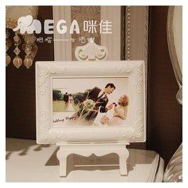 咪佳 亞克力塑料7寸歐式相框擺臺支架式 韓式田園二合一支架式框