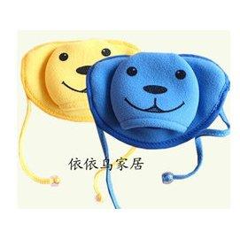 韓國 維尼小熊兒童口罩 純棉防寒立體絨卡通口罩 防塵透氣口罩