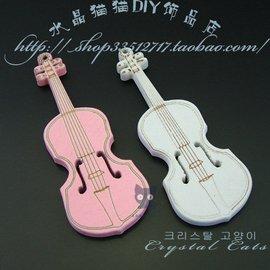 ^~HA0250^~~72MM天然木質大提琴吊墜2元1個(5元3個混色批)