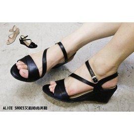 ALICE SHOES艾莉易購網 請把握^!^!搶鮮擁有潮流韓系厚底涼鞋~5423~MIT