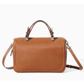 包郵ZARA女包2014 復古拼接方形保齡球淑女 單肩斜跨手提包