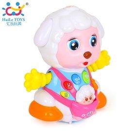 匯樂888親子電動益智萬向錄音嬰幼早教動物玩具0~1~2歲