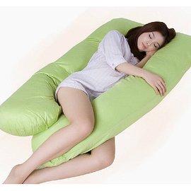 超舒適孕婦枕頭U型哺乳枕多功能護腰枕超大孕枕孕婦用品側睡枕透氣媽咪生日禮物抱枕