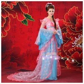 古代服裝 寫真古裝仙女裝 唐朝貴妃裝漢服演出服新娘舞臺演出古裝 表演 拍攝 舞蹈服裝