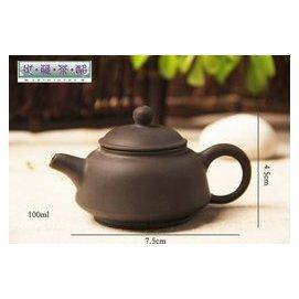 世藏茶酩大埔馨明園陶瓷紫砂茶具 紫泥短嘴壺 功夫茶壺  產品