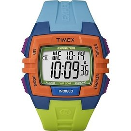 Timex Expedition Chrono Alarm Timer Watch T49
