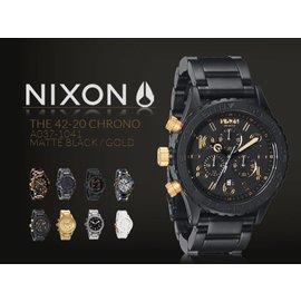 ~超稀有~NIXON 42~20 CHRONO 大型潛水錶 男女兼用 42mm 三眼 GB