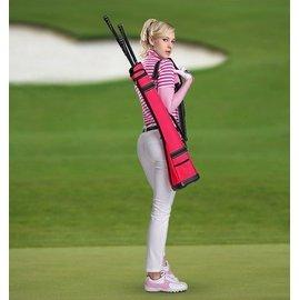 紅色 PGM正品 高爾夫球包 男女 高爾夫槍包 可裝4~5支桿 超輕便攜~粉色~