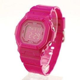 正品CASIO手表 卡西歐 BABY~G可愛防水 電子表女表 BG~5601~4D