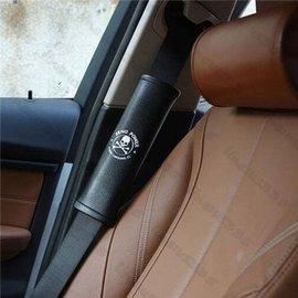 ~3D速動~骷髏頭汽車安全帶護套 車用保險帶套 骷髏頭 安全帶護肩 款