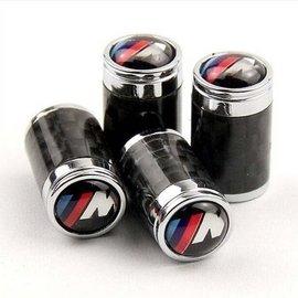 ~3D速動~BMW寶馬改裝M碳纖維氣門嘴帽氣門芯蓋 1系3系5系7系X3 X5X6氣門嘴