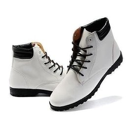 春秋  軍靴高幫鞋尖頭皮鞋 潮流短靴馬丁靴男靴子英倫 靴男士皮靴 皮鞋