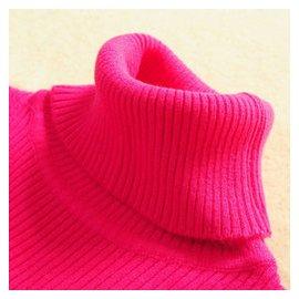 韓國春秋加厚高領打底毛衣女修身套頭針織衫秋鼕緊身短款羊毛衫
