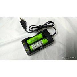 文山區可 _18650 雙充 可單充 獨立迴路~自行車 腳踏車 登山 露營 手電筒電池充