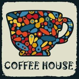 ~·蒂爾傢居 館~DIY數字油畫 無框畫 藝術畫 ~20~20∼萬花筒咖啡杯∼ 大 ~20