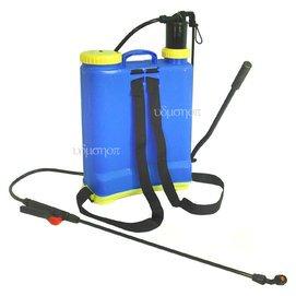 後背式 灑水噴霧器 16公升噴霧桶 有打氣筒加壓裝置 16L噴水器 灑水器 澆水器  澆花