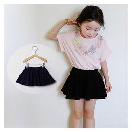 韓國 女童夏裝2015 百搭舒適兒童純棉短褲裙褲