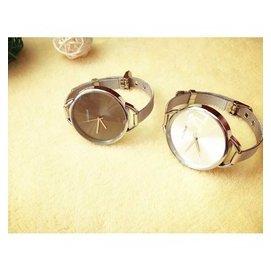 纖細鋼帶銀色可調手鐲女士式手表 潮品女生閨蜜學生手表