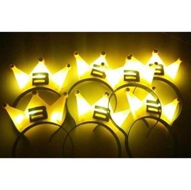 BIG BANG 皇冠箍 特製款 演唱會 應援 LED發光皇冠  TOP GD 權志龍 面