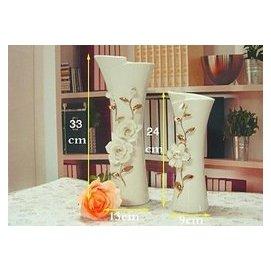 陶瓷花瓶花器 家居裝飾品 擺件工藝品 家裝酒店會所花插送禮