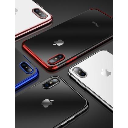 ~妞妞?3C~超薄透明軟套 APPLE iPhone7 iPhone6S Plus 電鍍T