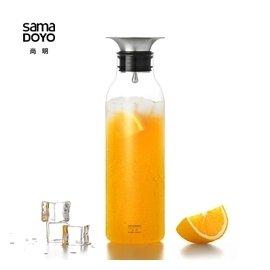 尚明正品冷水壺涼水壺 高硼 耐熱玻璃水具果汁壺大容量水杯套裝