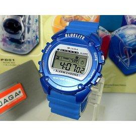 JAGA冷光電子錶 超 似G~SHOCK 錶 編織帶 &地球儀鐘錶 當兵 學生 ~ ↘29